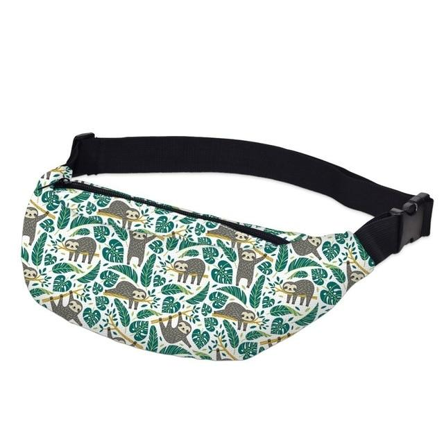 3D Printed Outdoor Silly Bean Waist Bags Collection Waist Packs deanfun Official Store The Out of It Animal