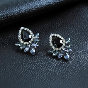The Hypnotic Bling Ultimate Bejeweled Party Evening Wear Stud Earrings Collection Stud Earrings Fitable Trendy Store Ultra Bling Hypnotic Black Eyed Jewels