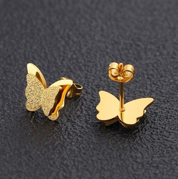 Teeny Tiny Stainless Steel Kawaii Cute Stud Earrings Set Stud Earrings jisensp Official Store