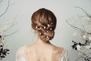 How to style a wedding updo with hairpins - 25 different looks