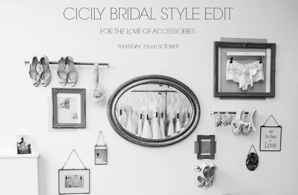 Cicily Bridal accessories styling event with Debbie Carlisle