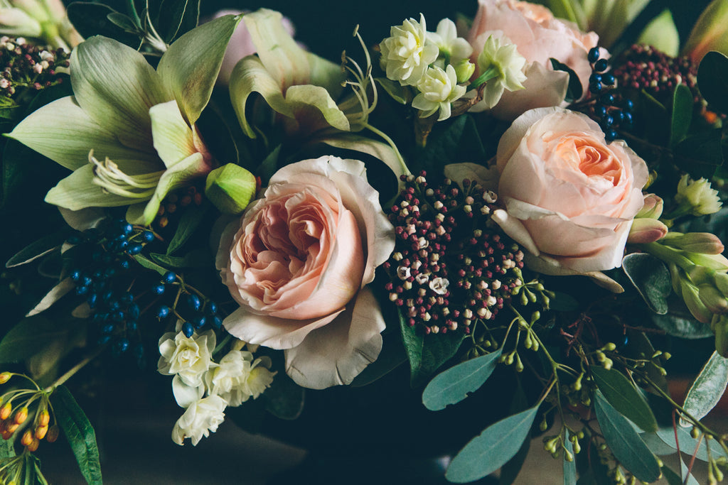 Swallows and Damsons wedding flowers Sheffield florist