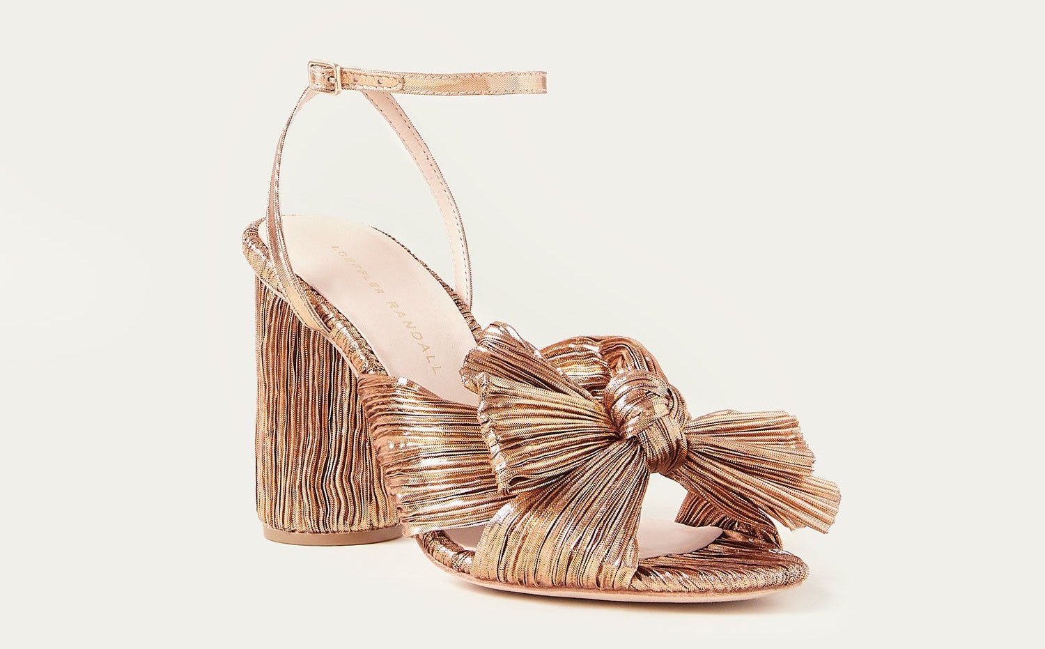 rose gold accessories - shoes - for your wedding Loeffler Randall