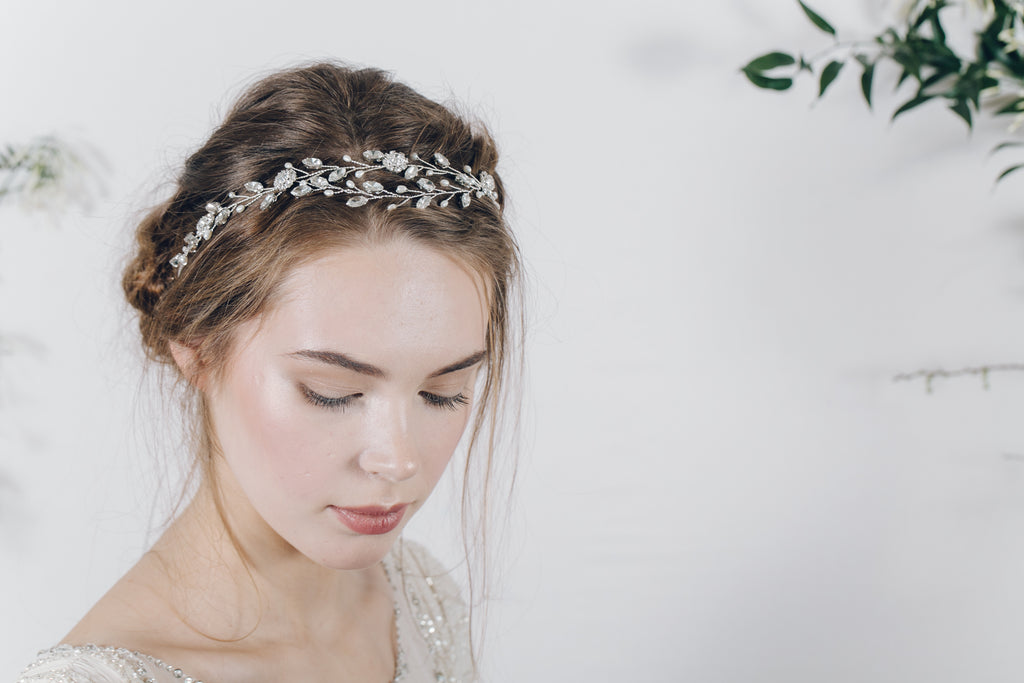 bohemian wedding headband