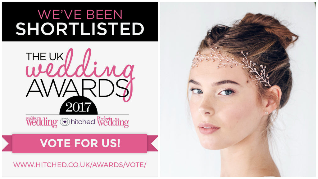 Debbie Carlisle Best Bridal Accessories in UK Wedding Awards 2017