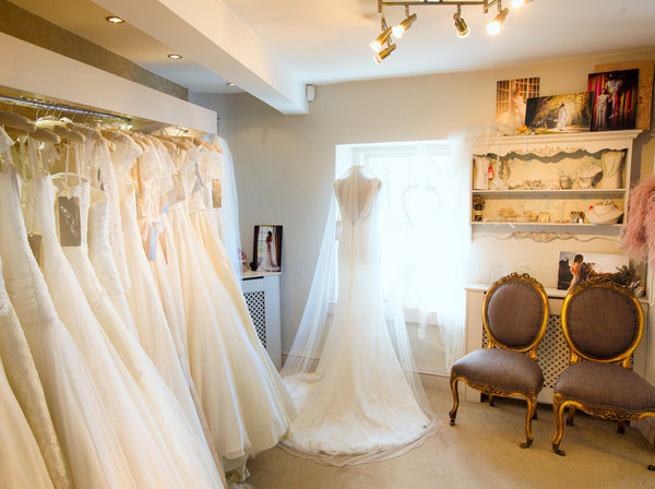 White Bride wedding boutique in Pembrokeshire West Wales
