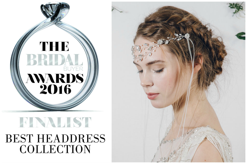 Debbie Carlisle named one of best UK wedding hair accessory designers
