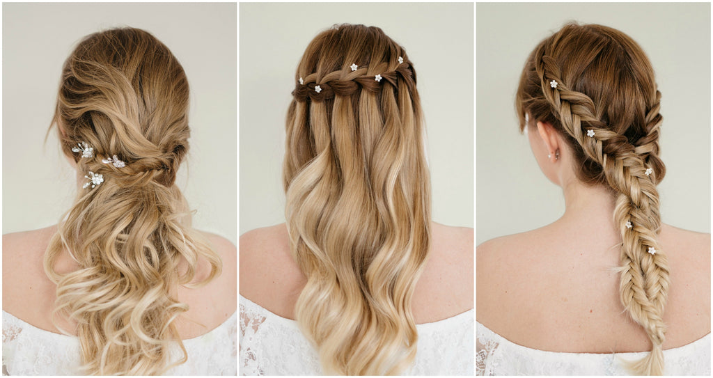 How to style wedding hair pins with expert bridal hair stylist tips