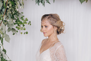 How to mix hair vines together for a new bridal look