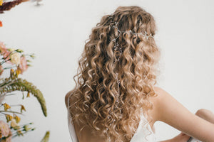 festival boho bride long hairvine
