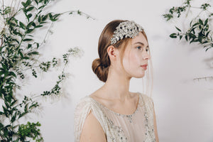 1920s crystal bridal headband