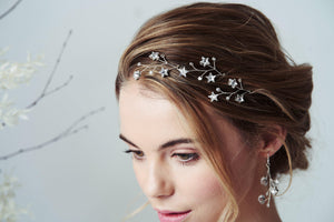 Celestial bridal accessories by Debbie Carlisle Moonlight collection