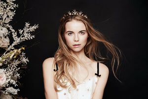Swarovski Crystal Star crown tiara by Debbie Carlisle Moonlight Collection