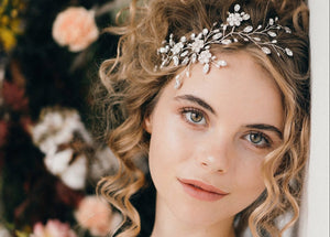 Botanical wedding headpiece