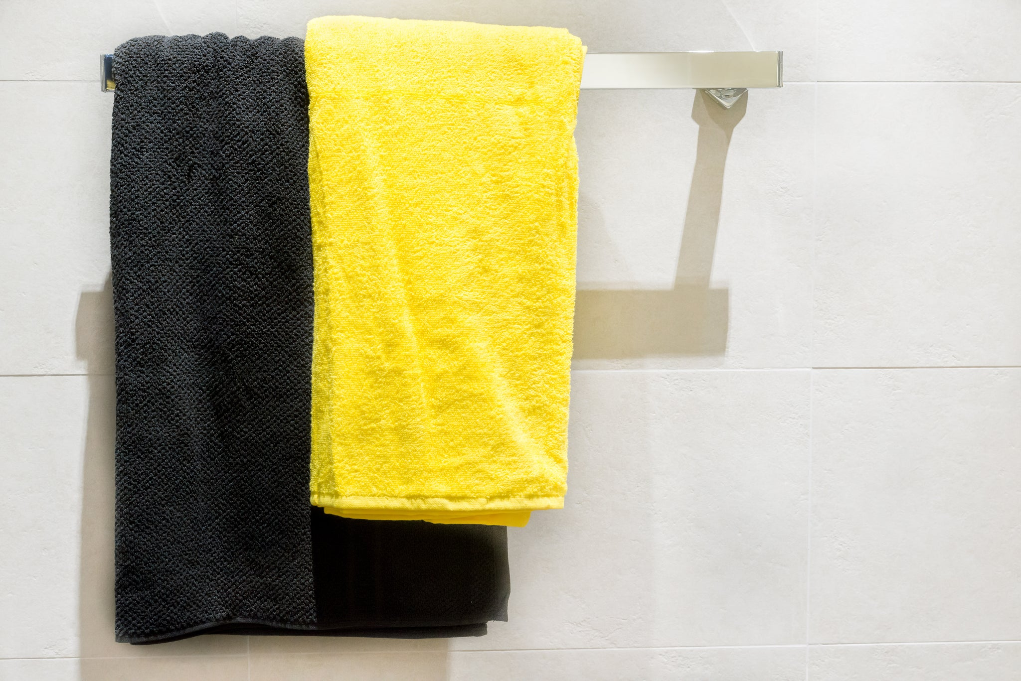 Hanging towels