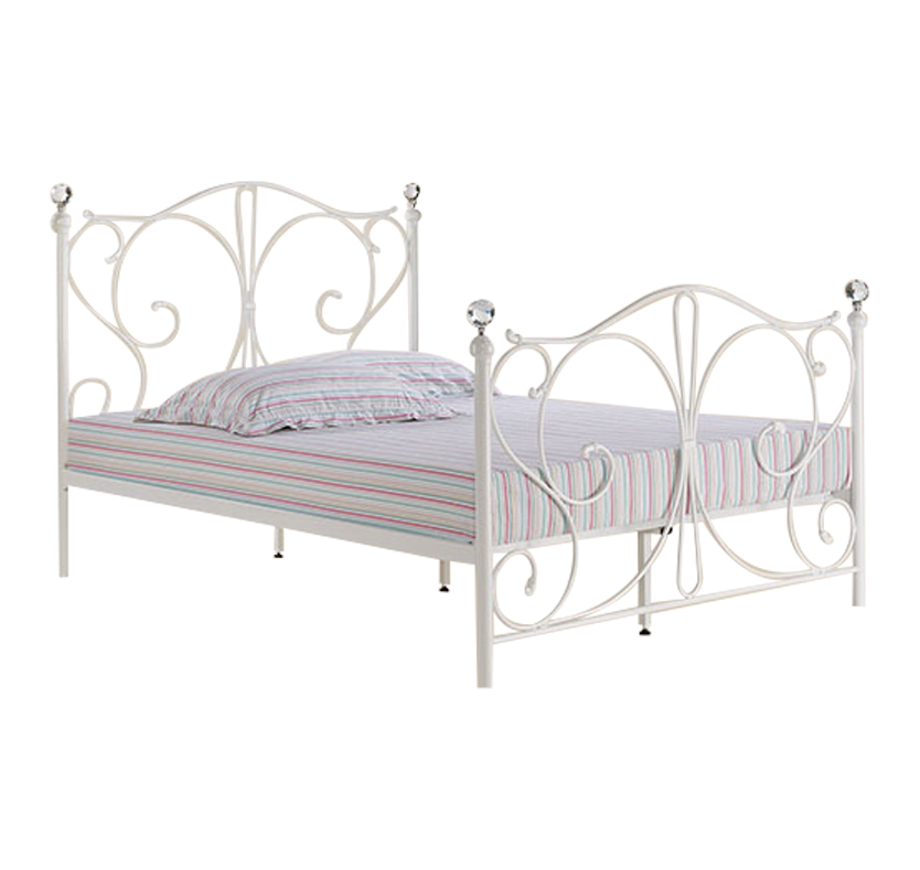 Molly Bed White King Size