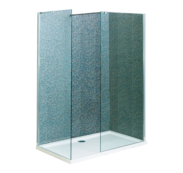 A8 Wet Room Screen  760mm x 715mm