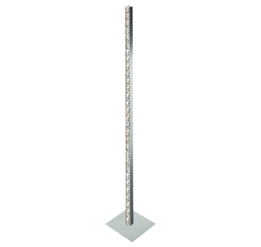 Contessa LED Crystal Floor Lamp