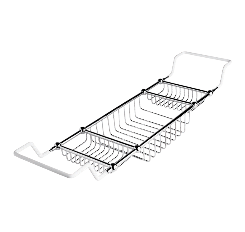 Select Traditional Adjustable Bath Rack