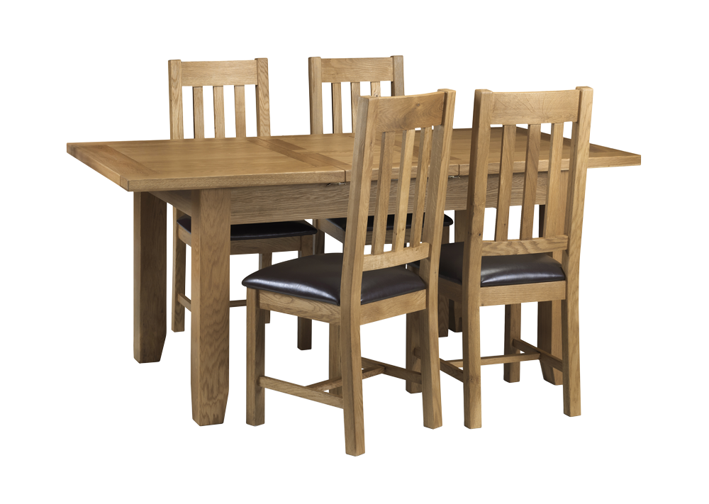 portland 4 seater dining set