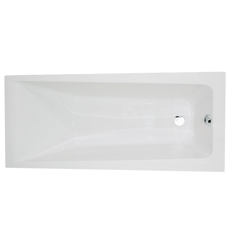 Fairmont Square Single-Ended Straight Bath - 1700mm x 700mm