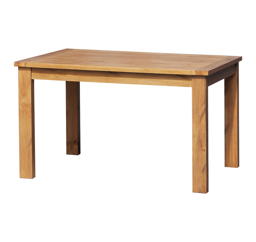 Orkney Fixed Dining Table - Pine