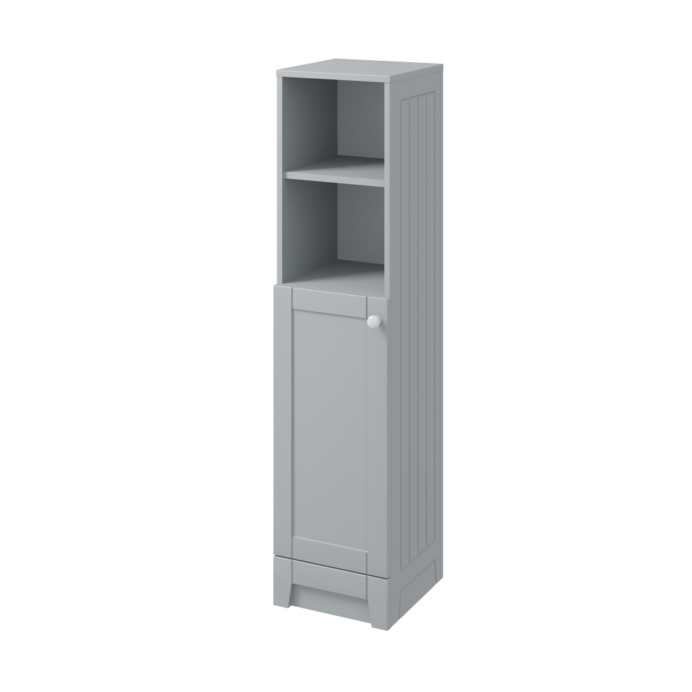 Stately Tall Storage Unit - Stone Grey