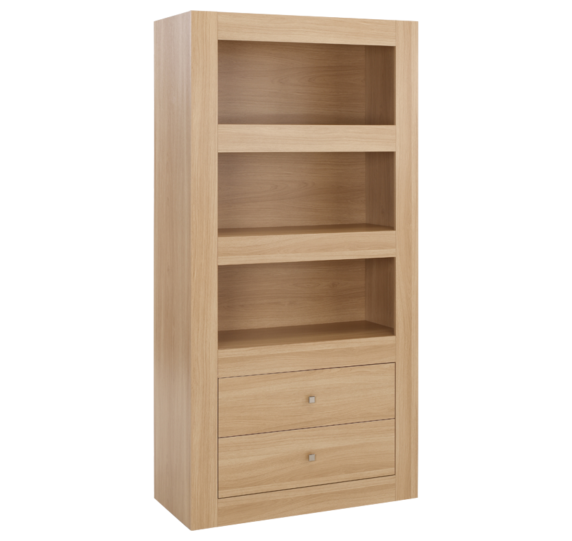 Bexley 3 Tier Bookcase - Oak