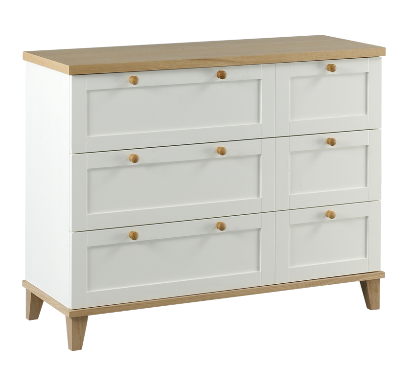 Nantucket 3 Drawer Large Chest