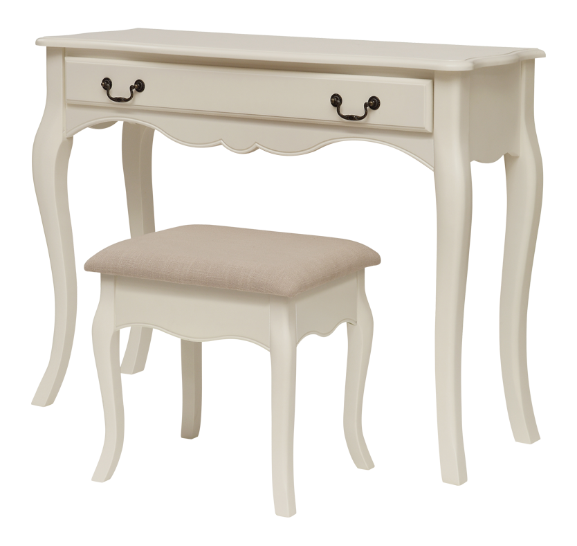 Fontette Dressing Table and Stool Set