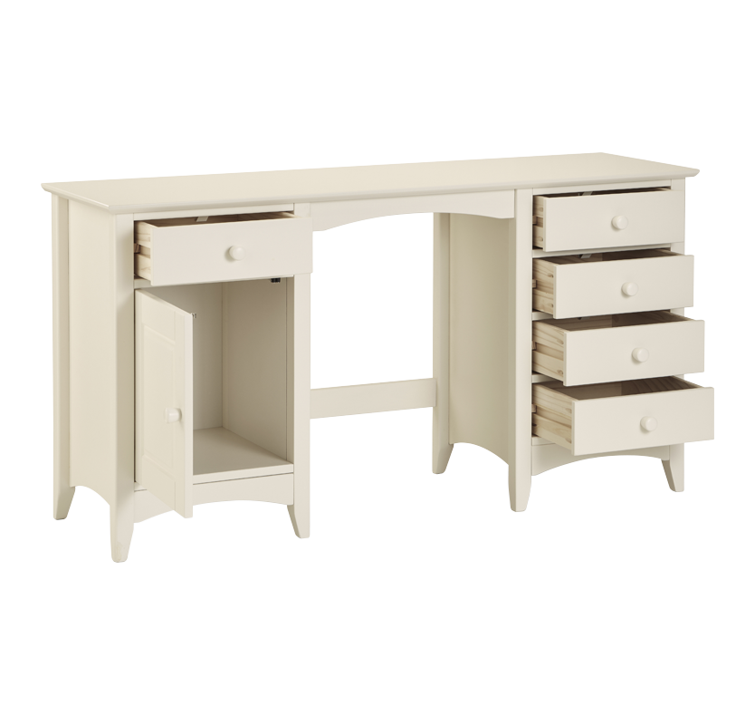 Draycott Twin Pedestal Dressing Table