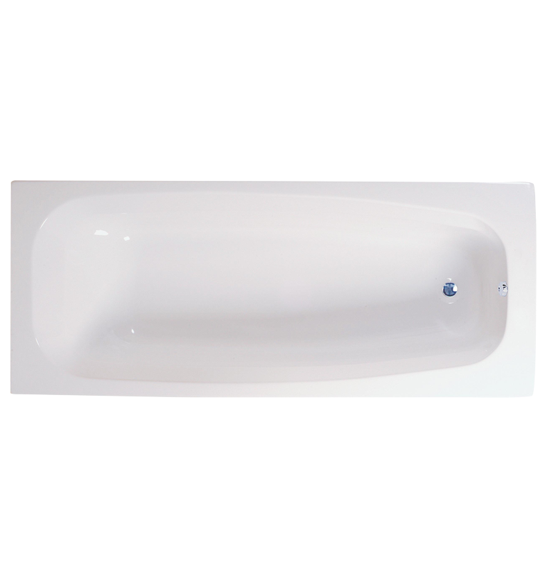 Conway Round Single-Ended Straight Bath - 1700mm x 700mm