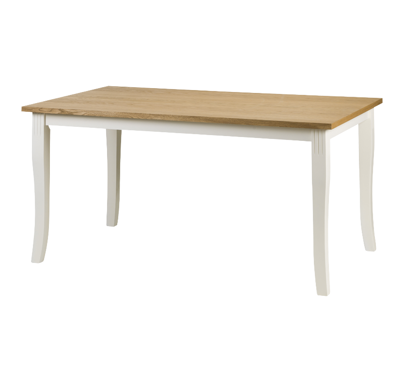 Cedar Falls Dining Table - White and Oak