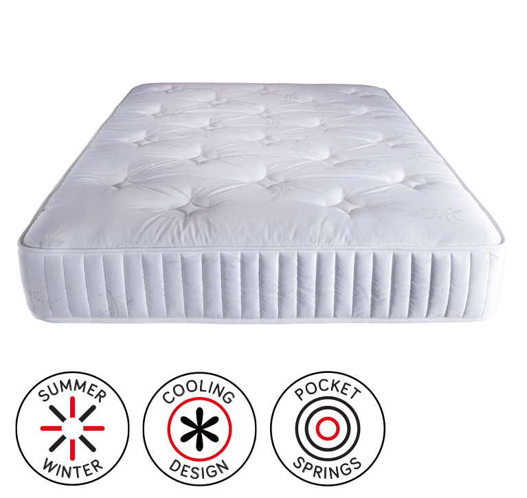Chatham Dual Season Pocket Sprung Mattress King Size