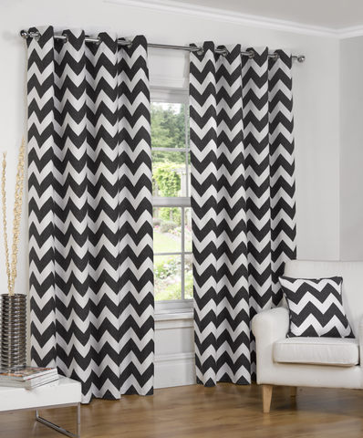 Normandy Chevron Curtain Range