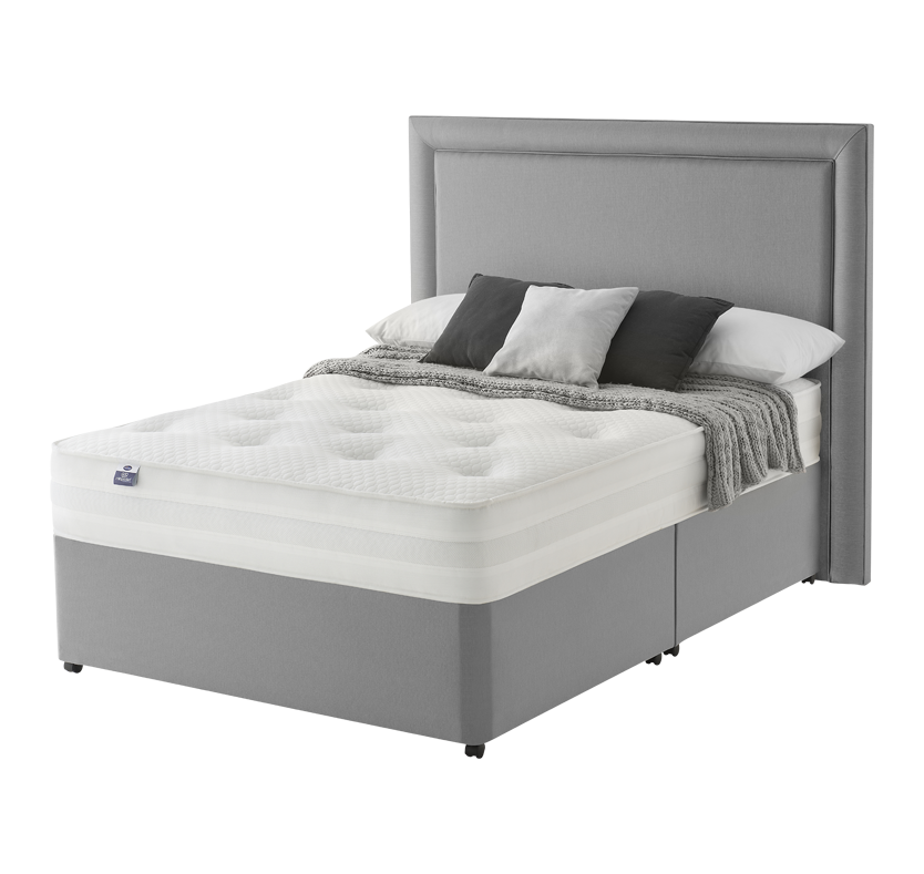 Silentnight 1000 Pocket Tuft Bed - Grey Single