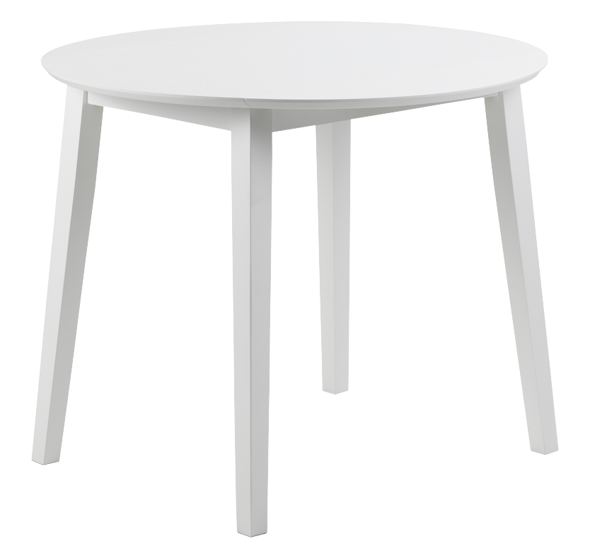 Dover Drop Leaf Table - White