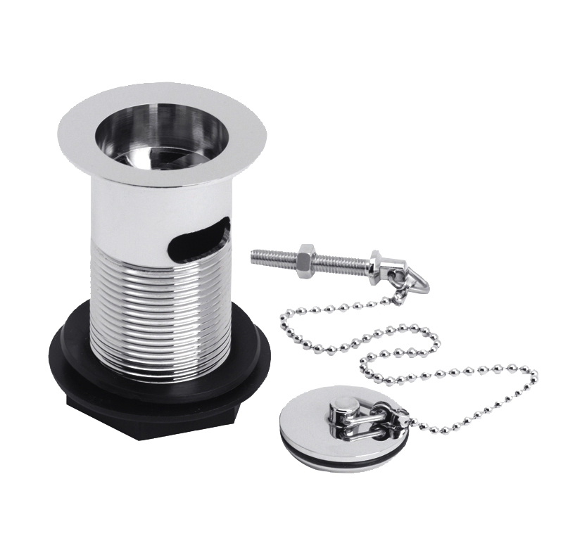 Select Brass Sink Waste With Ball Chain