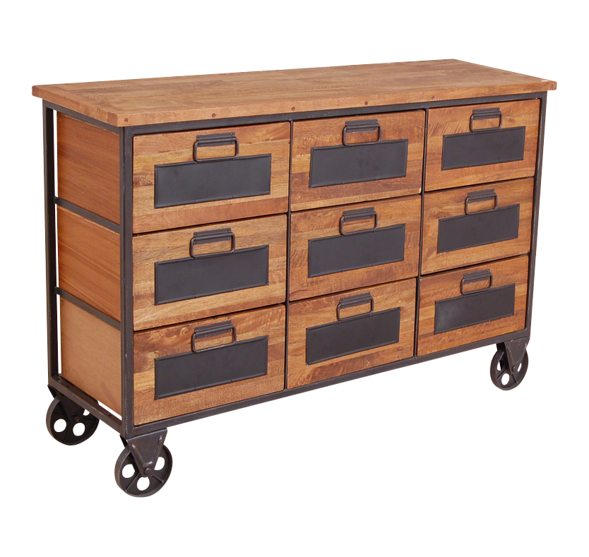 Coleman's 9 Drawer Re-Engineered Apothecary Chest