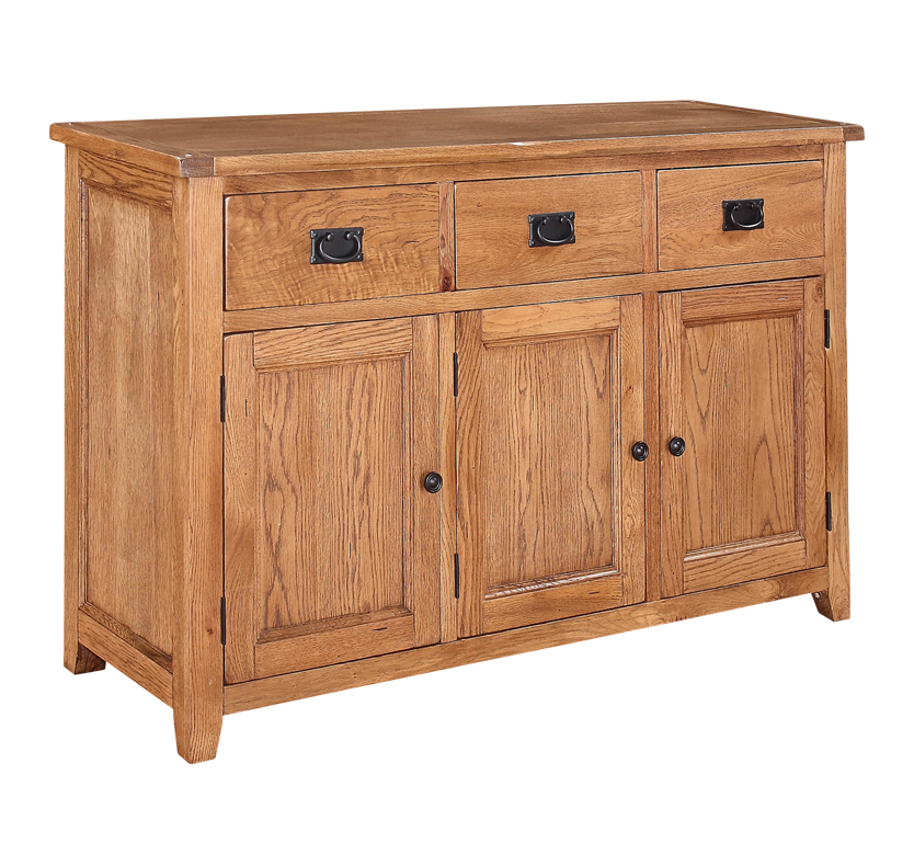 Eton 3 Drawer Sideboard  Oak