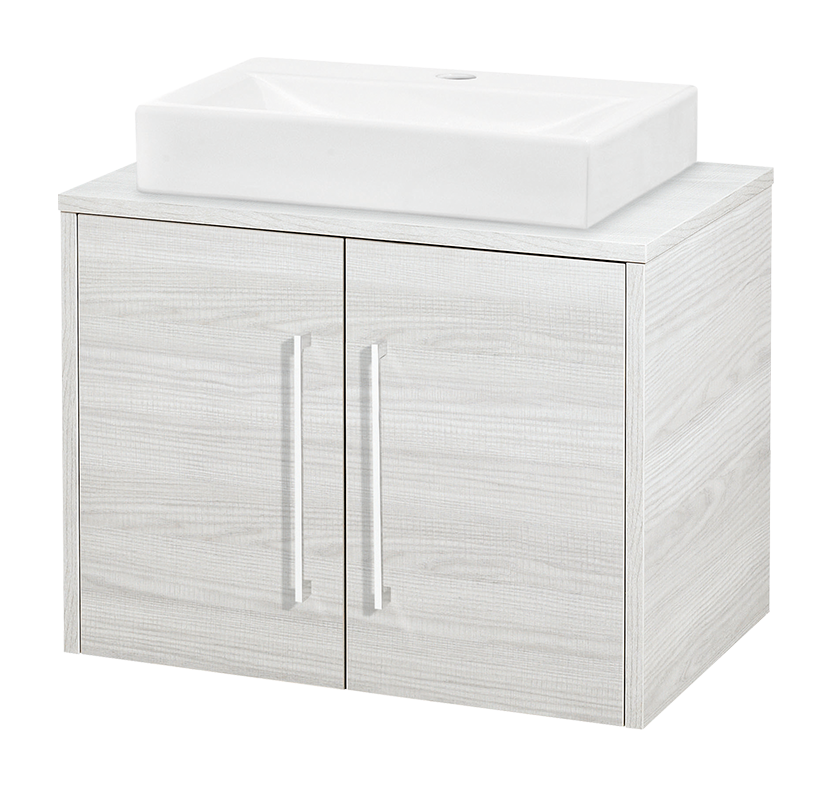 Hudson Reed Horizon 600mm Worktop & Double Door Cabinet