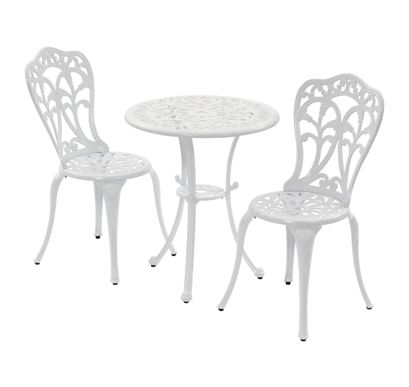 buy cheap iron bistro table compare sheds garden. Black Bedroom Furniture Sets. Home Design Ideas