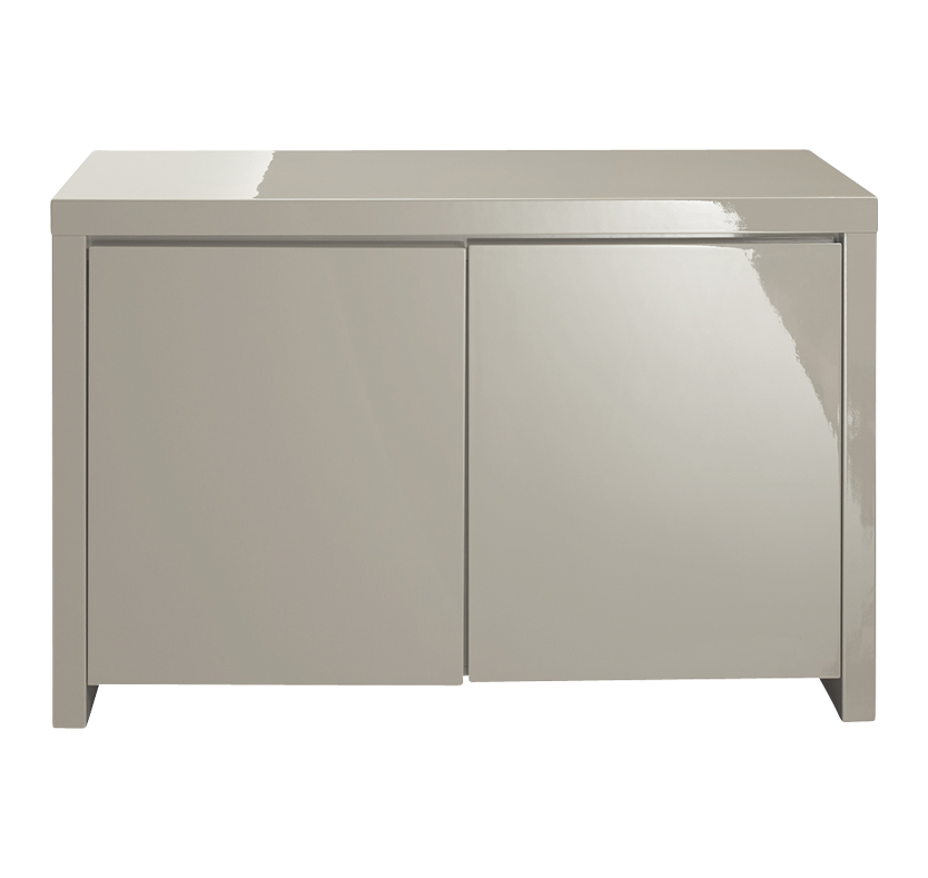 Gleam 2 Compartment Sideboard - Stone