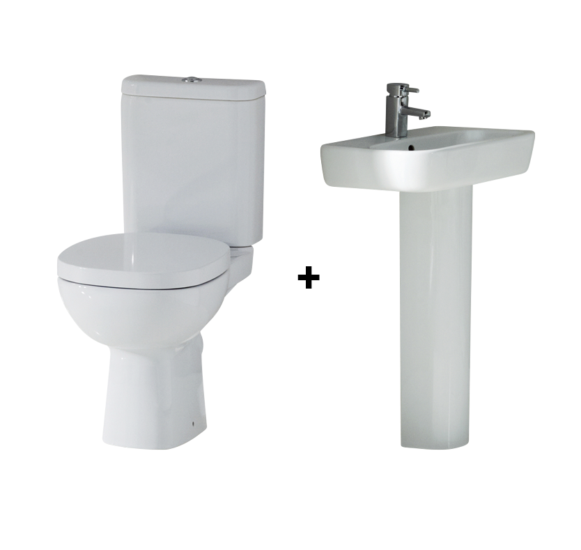 Ideal standard toilet seat shop for cheap bathrooms and for Grande commode