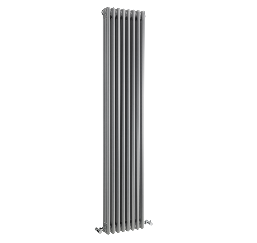 Select Traditional Colosseum Silver Triple Column Radiator