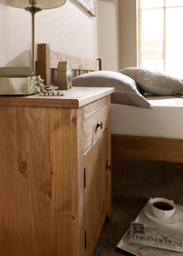 Stamford Bedside Table Matalan Direct