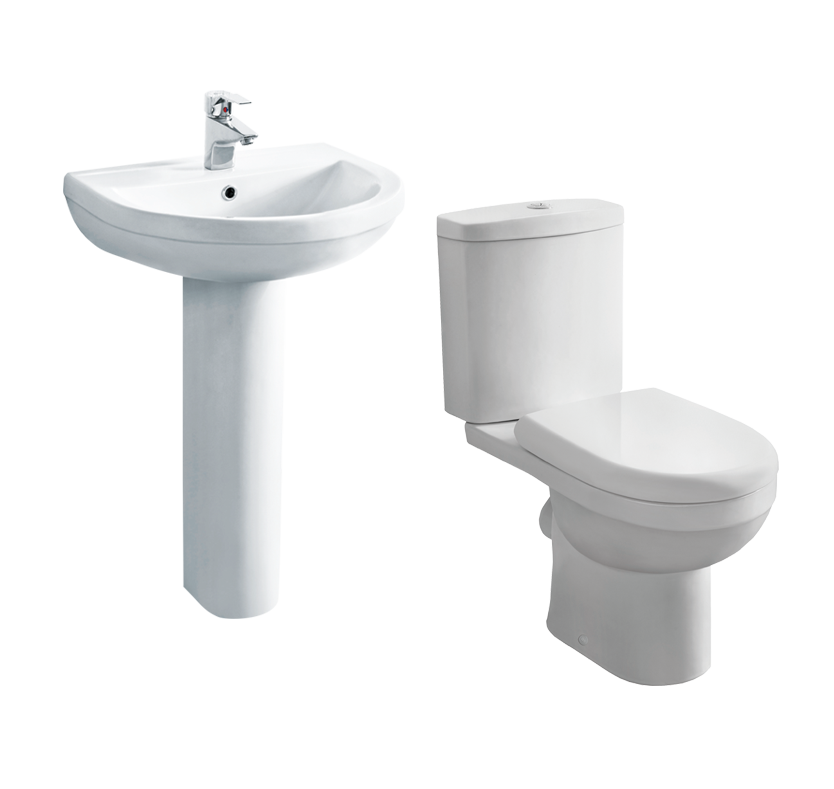 Buy cheap close coupled toilet compare products prices for Cheap toilet and sink set