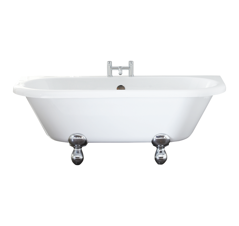 Rosedale Back to Wall Freestanding Bath