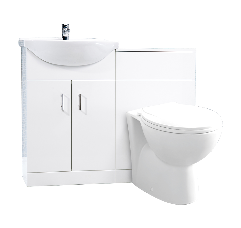 Simplicity 550mm Vanity and WC Unit with Simplicity Toilet