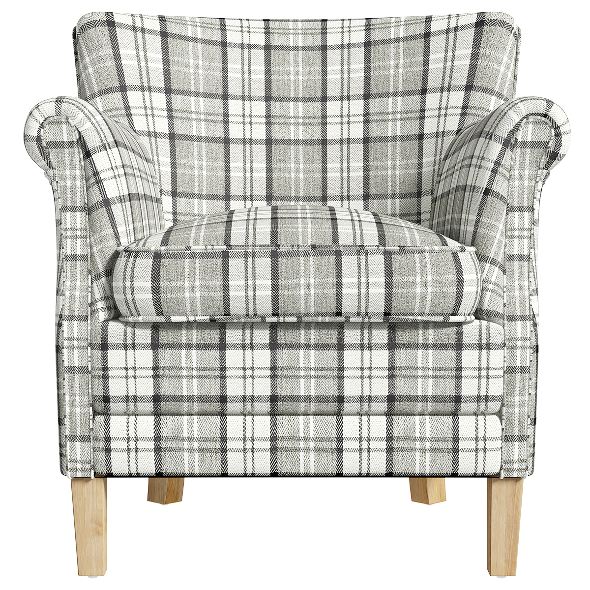 County Armchair - Granite Check